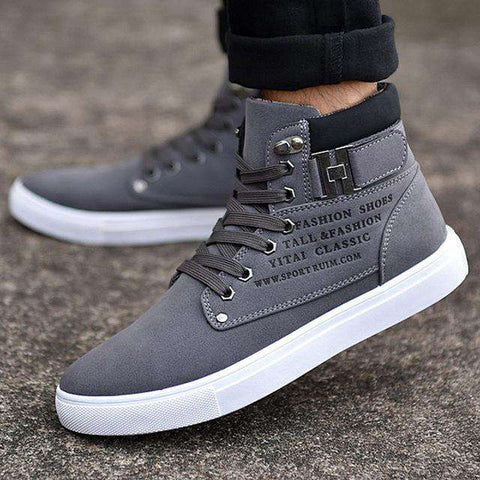 High Comfortable Top Canvas Men sneakers