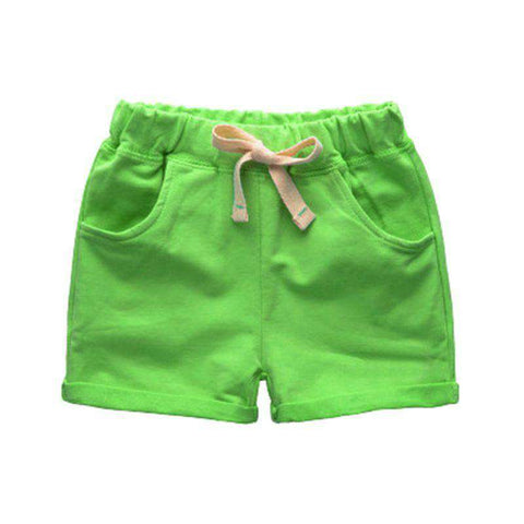 Colorful Fashion Kids Knee Length Shorts