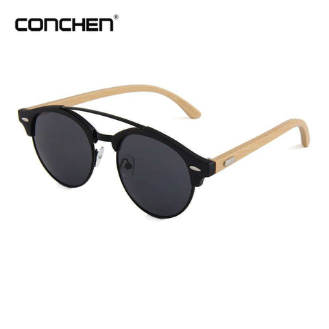 Bamboo Men Wooden Sunglasses UV 400