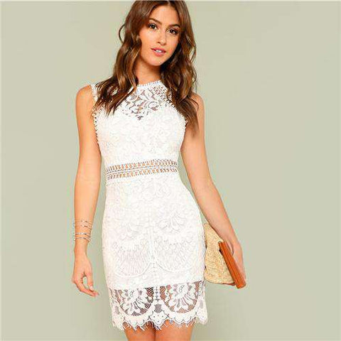 391a7429a9ea Sexy Women's Lace Dress   Pretty Lace Dress for Women – Offer Factor