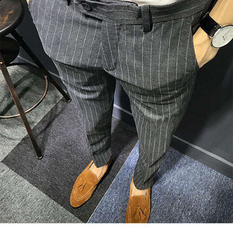 men luxury fit formal dress Pants