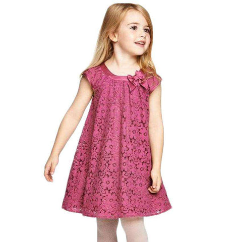 Lace Casual Toddler Kids Girl Clothing