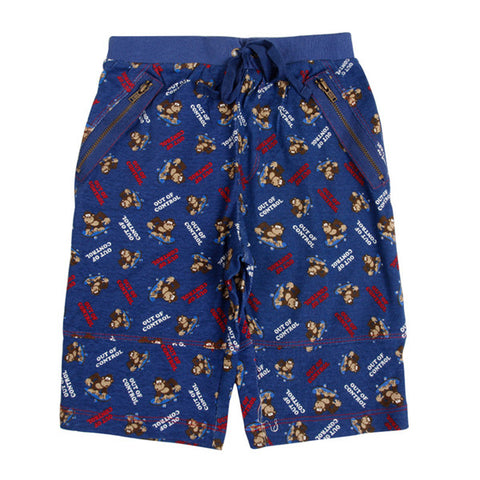 summer Kids cowboy letter short