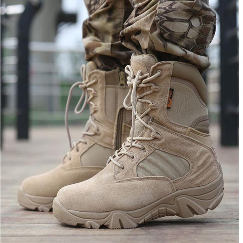 Tactical Hiking Professional Waterproof Boots