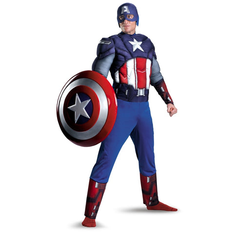Captain America Muscle Chest Avengers Costume