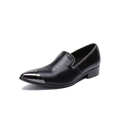 Pearl Party Metal Tip Shoes Men's