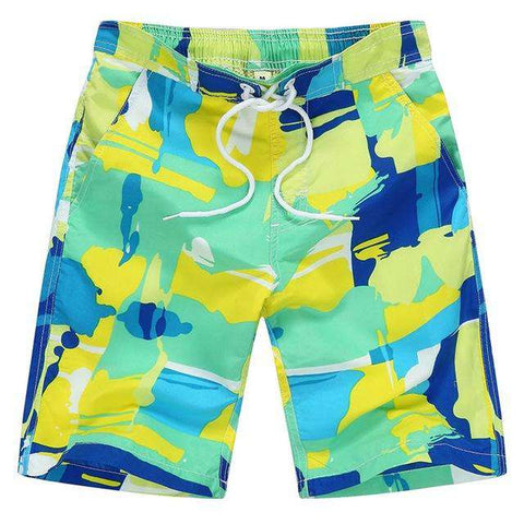 Casual Kids Swimming Trunks Board Quick Drying Shorts