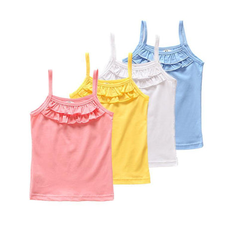 Sleeveless Tops Tees Outwear For Kids