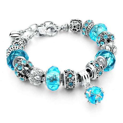 Crystal & Glass Beads Bracelets For Women