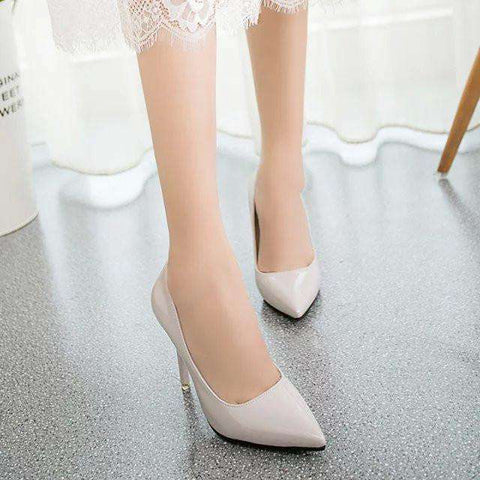 Bottom High Heels Patent Leather women