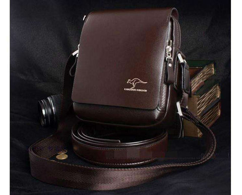 Fashion Brand Leather Men Shoulder Bag