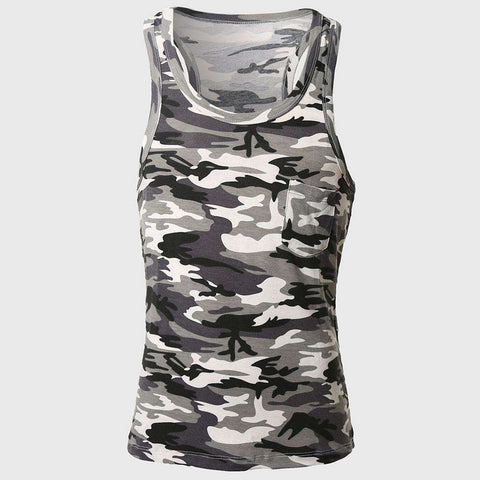 Men Army Military Tank Tops Vest Top V Neck Sleeveless Navy Green