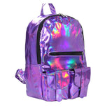 Silver Hologram Laser Backpack