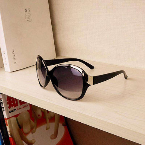 Black Frame Leopard Sunglasses