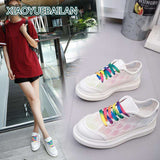white Net muffin top thick Heighten Casual shoes