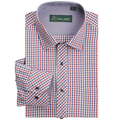 High Quality Men's Classic Long Sleeve Dress Shirt
