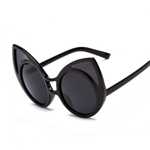 Cat Eye Sunglasses Points Women Vintage