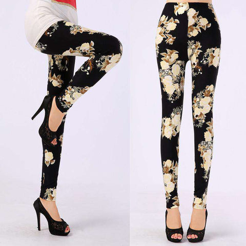 Colorful Printed Leggings Women for women
