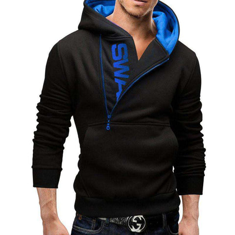 Hoodies Men Zipper Jacket Hoodie Sweatshirt Suit Slim