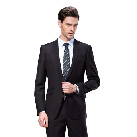 Black Color Men Business Suit blazers