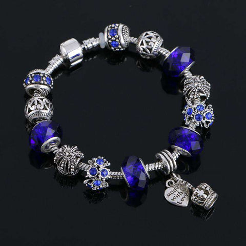 Crystal Beads Charm bracelet for Women