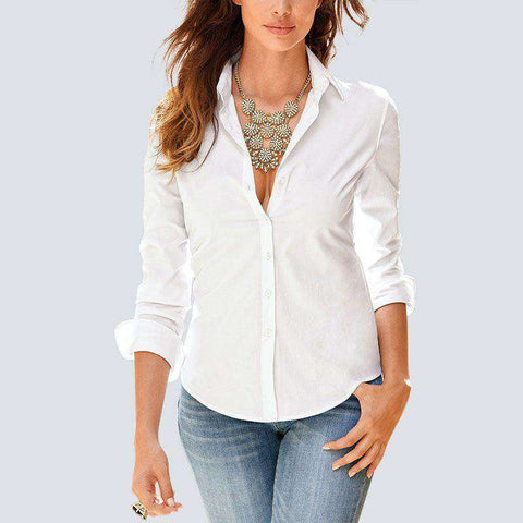 Casual Long Sleeve Women Blouses Summer Fashion