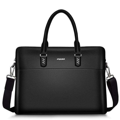 Men/Women Genuine Leather Briefcases Fashion Laptop Bag