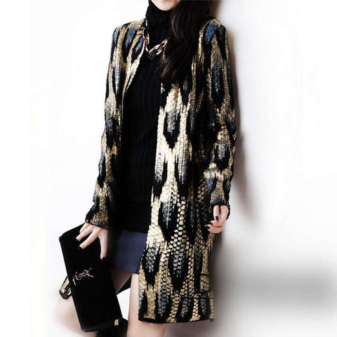 Cardigan Ladies Sweater Women Coat