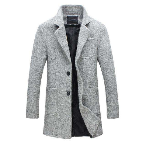 Mens Fashion Boutique Woolen Coats Jacket