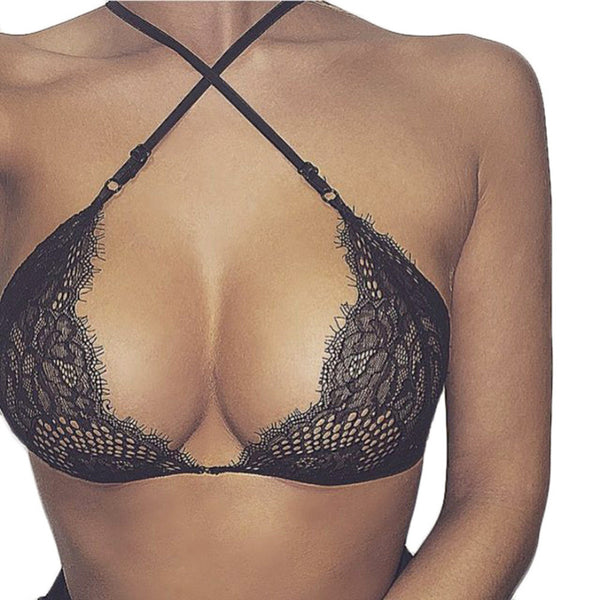 Summer Fashion Lace Hollow out Women Bra