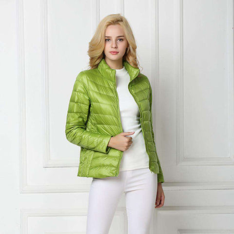 Down Jacket Women Light Coat