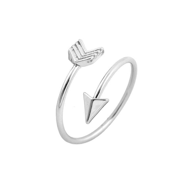 Handmade Min 1pc-Arrow Wrap Ring In Gold,Silver For Women