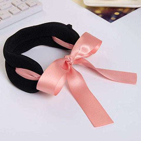 Headbands Bows Rope Hair Device Clip Pins for Women