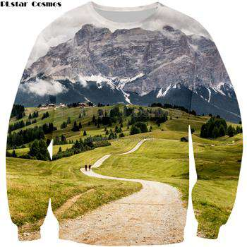 3D Print Men's Sweatshirts Long Sleeves
