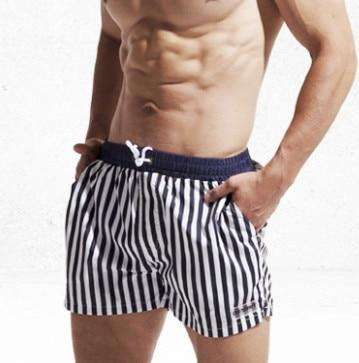 Swimwear Striped Men Shorts