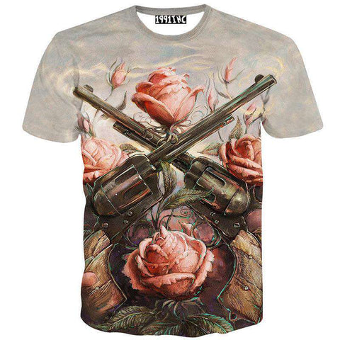 Men 3D T Shirt Short Sleeve O Neck