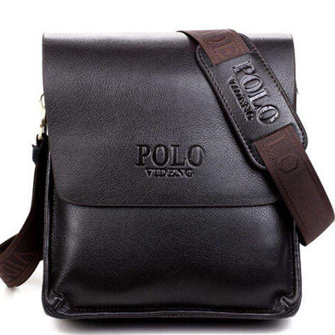 Men's Messenger Bags PU Leather Crossbody