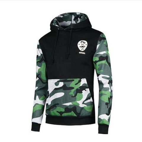Mens Hooded Sweatshirts Hedging Streetwear