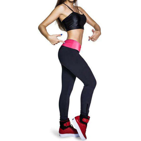 High Waist Slim Leggings Fitness Trouser Pants