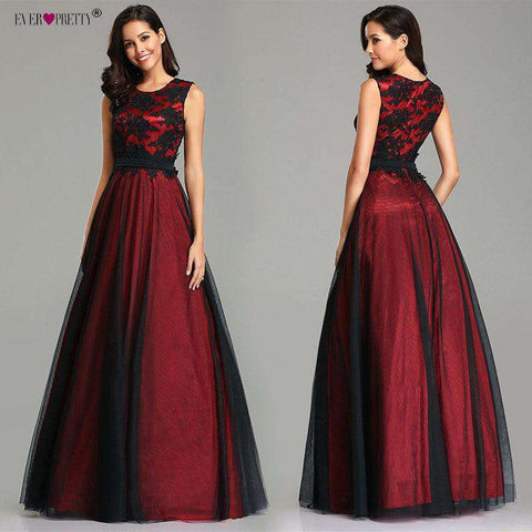 Chiffon Evening Appliques Gown Elegant Prom Dress
