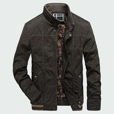 Men's Casual Fleece Thermal Tactical Military Jackets
