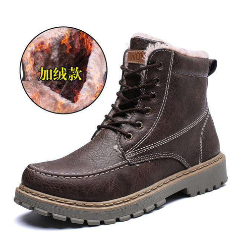Men Outdoor Martin Winter Casual Snow Ankle Boots