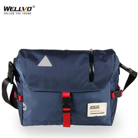 Men Crossbody Water Repellent Messenger Travel Bag