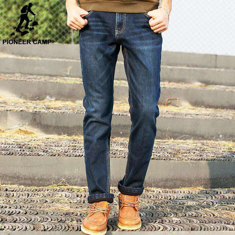 Jeans Men High Quality Fashion Casual Denim Trousers
