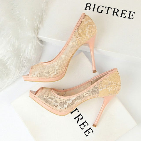 Women Extreme High Heels Wedding Stilettos Shoes