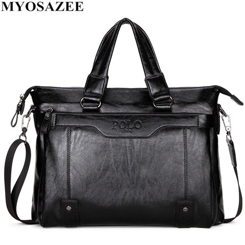 PU Leather Men Fashion Travel Bag