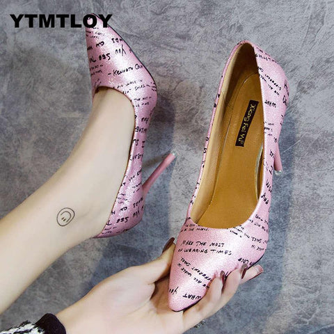 Women Solid Elegant High Fashion Wedding Heel