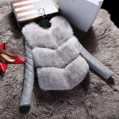 Fashion Autumn Winter Coat Warm Women jackets