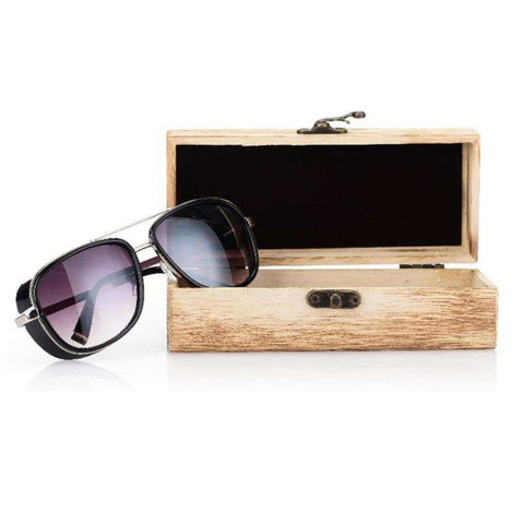 Bamboo Sunglasses Men UV400 Protection Used Nature Material