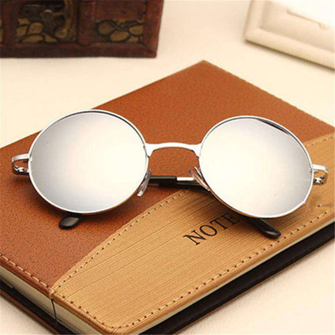 Classic Round Sunglasses Men Women Small Vintage